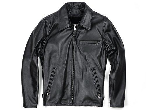 [ショット] SCHOTT 643 シングルライダース 当店別注 MADE IN USA B00D842RQA 42|ブラック ブラック 42