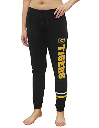 (GRAMBLING STATE TIGERS Womens NCAA Lounge / Yoga Pants XL Black)