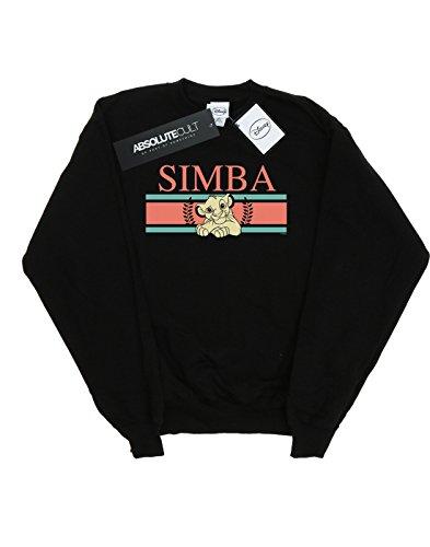 Simba Disney Lion The Sudadera Stripes King Negro Women 44HOqISw7