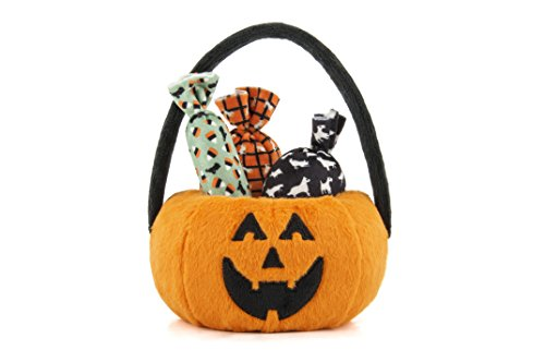 P.L.A.Y. PET LIFESTYLE AND YOU P.L.A.Y. - Halloween Pumpkin Basket with Candies -