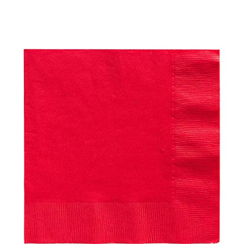 (Apple Red Luncheon Napkins Big Party Pack, 125 Ct.)