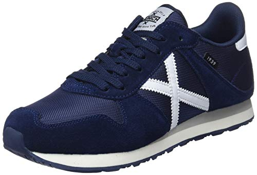 MUNICH Unisex Adults' Massana Trainers, Blue (Azul Marino 301), 8 UK 8 UK