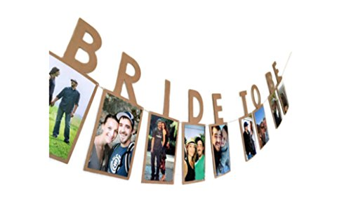 E&L Bride to be Photo Banner, Wedding Decoration,