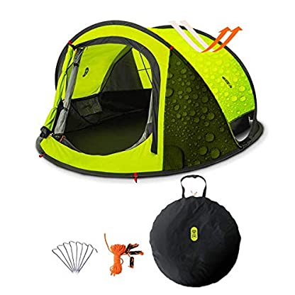 Zenph Pop Up Family Camping Tent, Waterproof Automatic Camping Tent,UV Cut for Camping Hiking Festivals 1