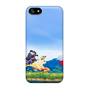 Durable Defender Cases For Iphone 5/5s Covers(inuyasha Anime Sango)