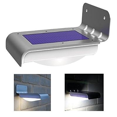 Light Sensor Motion 16 Led Solar Power Lights Security Garden Lamp Outdoor Waterproof Light