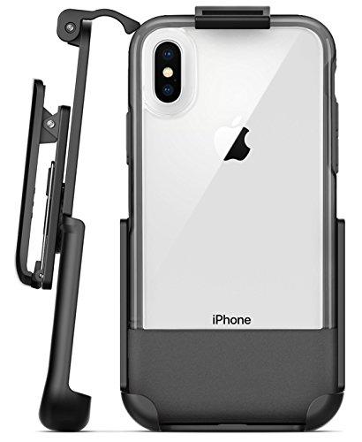 Encased Belt Clip Holster Compatible with Otterbox Statement Case - iPhone X (case not Included) (Otterbox Statement Series Case For Iphone X)