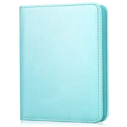 Fintie Mini Photo Album for Fujifilm Instax - 104 Pockets Photo Album for Fujifilm Instax Mini 9 Mini 8 Mini 90 Mini 25, Polaroid Snap PIC-300, HP Sprocket, Kodak Mini 3-Inch Film (Ice Blue)