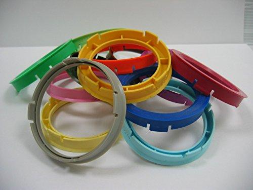 NOT OEM AP76561 1Pz x Anello boccola di centraggio in plastica per cerchi in lega da 76 a 56,1 /Ø