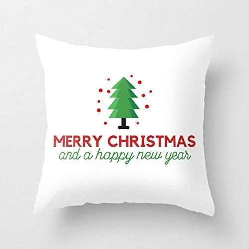 Xu Huayan Merry Christmas Series - Funda de Cojín Cuadrada ...