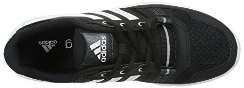 adidas Gym Warrior .2 - Zapatillas de cross training para hombre Negro / Blanco / Gris
