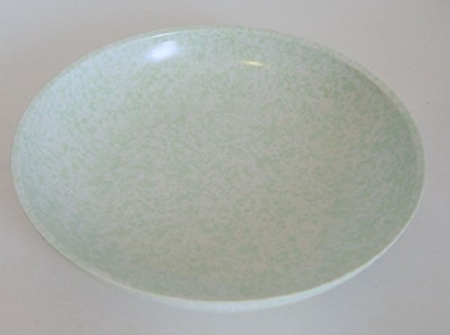 Boonton Ware Mint Green Spatter Soup Cereal Bowl 7 3/4 Inches D