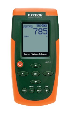 (Extech PRC15 Current and Voltage Calibrator and)