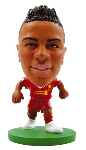 Soccer Starz - Raheem Sterling Liverpool - Home Kit (2015 Version) / Figures