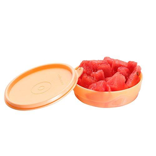 Cello Max Fresh Executive Round Small Polypropylene Container, 225ml, Peach