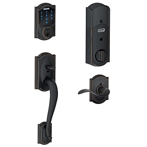 schlage-connect-camelot-touchscreen-deadbolt-with-built-in-alarm-and-handleset-grip-with-accent-leve