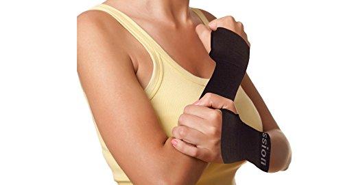 Copper Compression Recovery Wrist Sleeve, #1 GUARANTEED Highest Copper Content. This Wrist Support / Brace Helps With Symptoms Of Carpal Tunnel, RSI, Arthritis, Tendonitis, Sprains & More! (1 Sleeve)