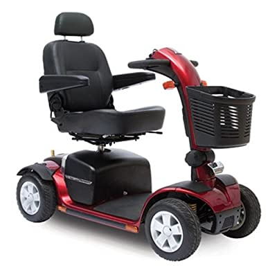 Pride Victory Sport 4 Wheel Scooter - Red - SC710 DXW RED by Pride Mobility