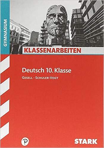 Klassenarbeiten Deutsch Stark Klassenarbeiten Gymnasium