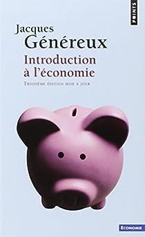 Introduction à l'économie par Généreux