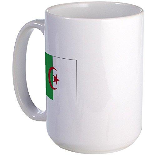CafePress - Algeria Flag Large Mug - Coffee Mug, Large 15 oz. White Coffee Cup