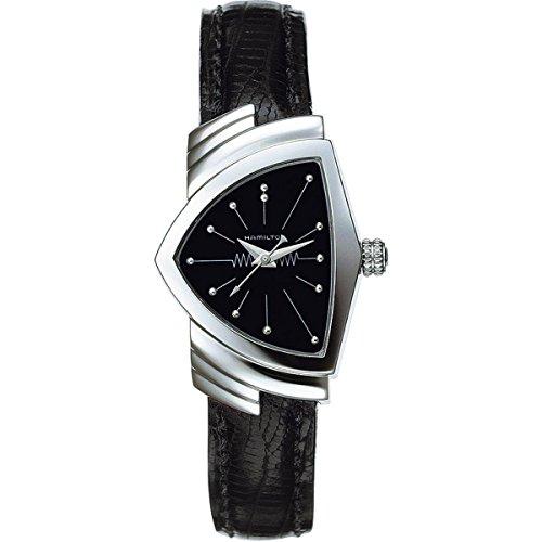 Hamilton Women s H24211732 Ventura Analog Display Quartz Black Watch