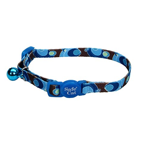 Coastal Pet Blue Swirls Cat Safety 8-12