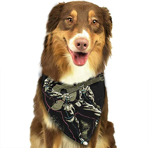 Pet Scarf Dog Bandana Bibs Triangle Head Scarfs Astronauts with Guitar Accessories for Cats Baby Puppy