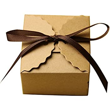 Very best Amazon.com: White Gift Boxes 2x2x2 inch for Candy Treat Gift Wrap  DY22
