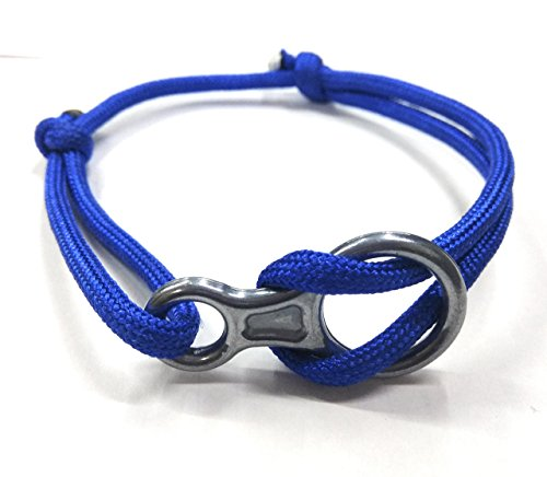 - Add-gear Rock Climbing Fig 8 Descender Bracelet, Climbing Rope Bracelet, Climber Bracelet