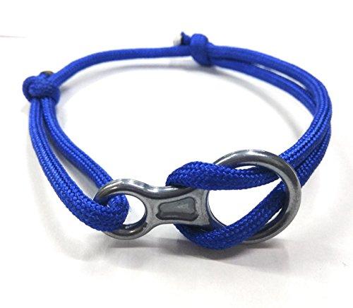 Add-gear Rock Climbing Fig 8 Descender Bracelet, Climbing Rope Bracelet, Climber Bracelet