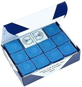 Silver Cup Tiza - Azul, Paquete De 144 Piezas: Amazon.es: Deportes y aire libre