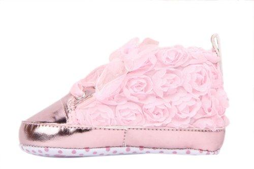 Dentelle Déco Rose Jtc Bébé Chaussures Fille Jolie wHZWRpqW