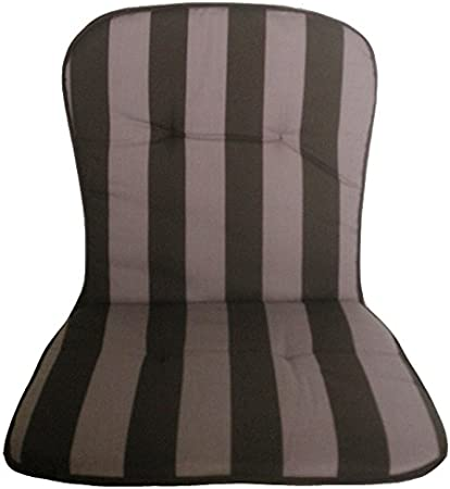 Beo BS53 KOS MN - Cojín monobloque para sillas apilables Bajas (44 x 80 cm, 2,5 cm de Grosor)