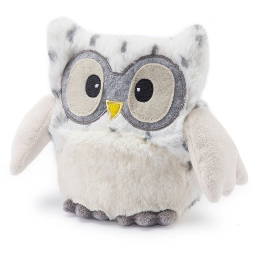 Warmies® Microwavable French Lavender Scented Plush Hooty Snowy Owl ()