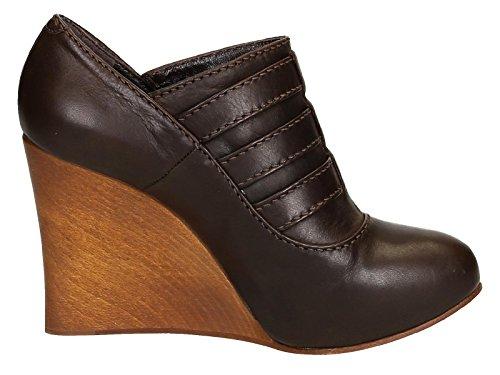Femme Marron Cuir Compensées CH717100330 Chloé Chaussures TPdERAqwT