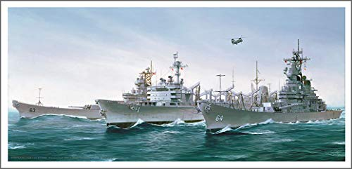Mark Churms Fine Art Prints: PREPARING for The Storm - US Navy Warships (1991) Signed Limited Edition Paper ()