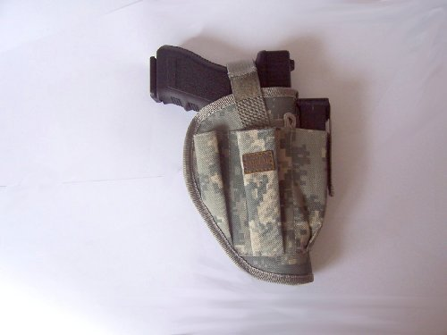 New Airsoft Pistol Holster Camo Style Right Side Belt Holste