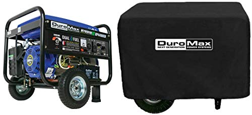 DuroMax Hybrid Dual Fuel XP4400EH 4,400-Watt Portable Generator New(Bundle) DuroMax