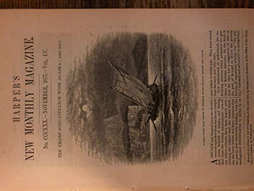 1877 Travels in Alaska Stickine River Sitka Seal Islands Saanack Shishaldin ()