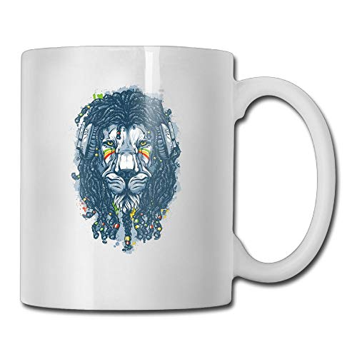 (FOOOKL Lion 11oz Tea Cup Coffee Mug)