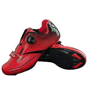 41%2B3uzBlwAL. SS300 LNVRIDS - Scarpa da ciclismo professionale, girevole, in pizzo, stile montagna/bici da strada