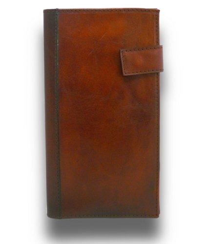 Pratesi Italian Leather Fiorino d'oro - Portfolio in Leather, Brown