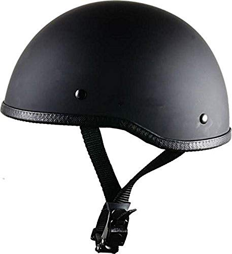 CRAZY AL'S WORLDS SMALLEST HELMET SOA INSPIRED IN FLAT BLACK WITH NO VISOR SIZE LARGE