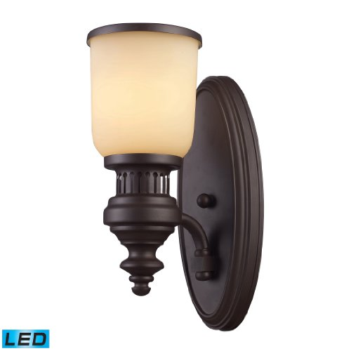 picture of Elk Lighting Chadwick Oiled Bronze 1-Light Wall Sconce