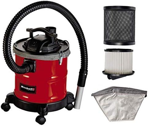 Einhell 2351665 Aspirador de ceniza, Negro, Rojo: Amazon.es ...