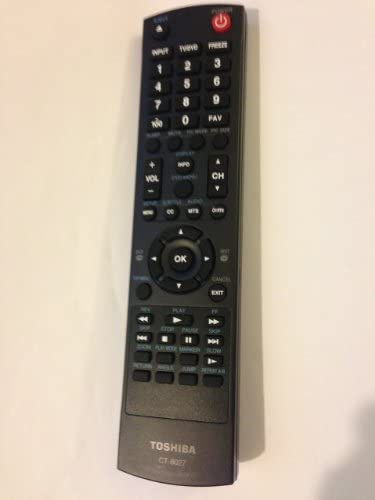 Toshiba Tv Combo Remote Control Ct-8027