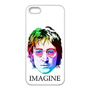 iPhone 5 5s Cell Phone Case White John Lennon ryhx