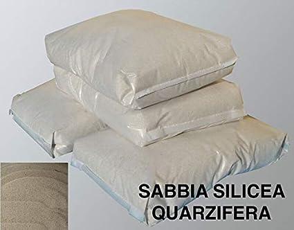 SABBIA QUARZIFERA PER FILTRI PISCINA GRANULOMETRIA 1-2 MM