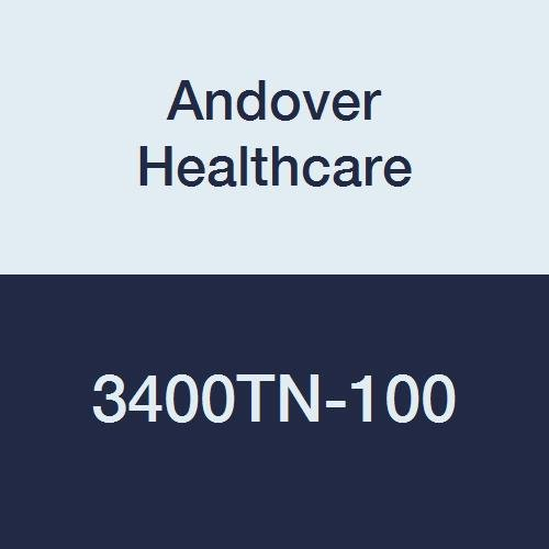 Andover Healthcare 3400TN-100 Coflex Non-Woven Cohesive Self-Adherent Wrap, 15' Length, 4'' Width, Tan, Latex Bulk (Pack of 100)